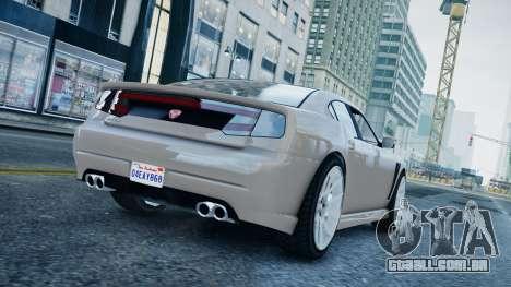 GTA 5 Bravado Buffalo para GTA 4 esquerda vista