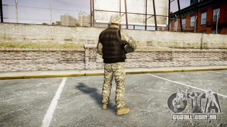 Medal of Honor LTD Camo1 para GTA 4 terceira tela