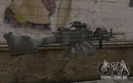 Minigun MK48 para GTA San Andreas segunda tela