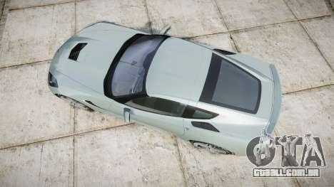 Chevrolet Corvette C7 Stingray 2014 v2.0 TireGY para GTA 4 vista direita