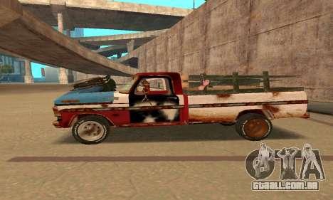 Ford PickUp Rusted para GTA San Andreas esquerda vista