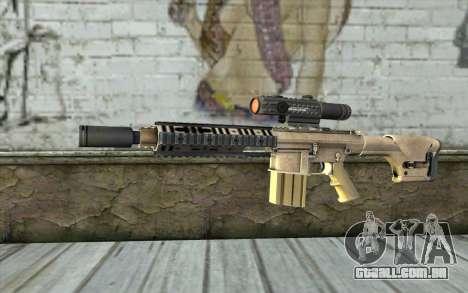 M110 Cuarter Combat Rifle para GTA San Andreas