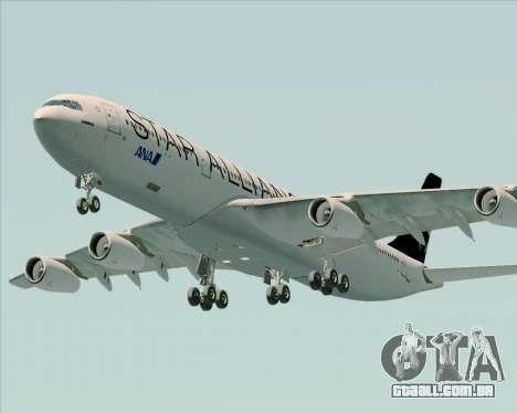 Airbus A340-300 All Nippon Airways (ANA) para o motor de GTA San Andreas