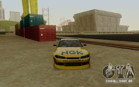 Nissan Silvia S15 NGK Motorsport para GTA San Andreas vista direita