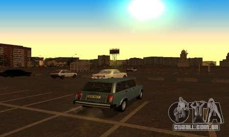 Lada 2104 Riva para GTA San Andreas esquerda vista