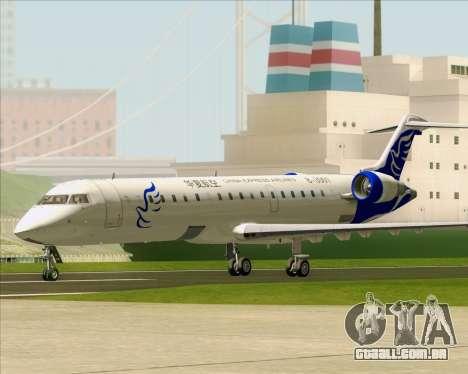 Embraer CRJ-700 China Express Airlines (CEA) para GTA San Andreas esquerda vista