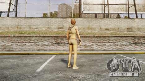 Menina do FBI para GTA 4 por diante tela