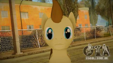 Doctor Whooves from My Little Pony para GTA San Andreas terceira tela