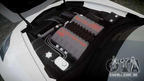 Chevrolet Corvette C7 Stingray 2014 v2.0 TireGY para GTA 4 vista lateral