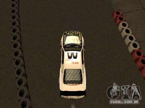 Nissan Silvia S15 VCDT para GTA San Andreas vista interior