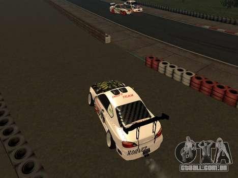Nissan Silvia S15 VCDT para GTA San Andreas traseira esquerda vista