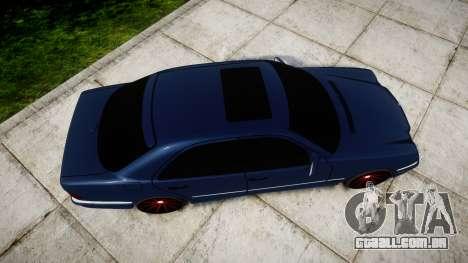 Mercedes-Benz W210 E55 2000 AMG Vossen VVS CVT para GTA 4 vista direita
