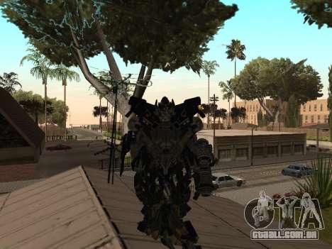 Transformers 3 Dark of the Moon Skin Pack para GTA San Andreas terceira tela