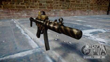 Arma MP5SD EOTHS FS c-alvo para GTA 4