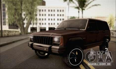 Jeep Cherokee para GTA San Andreas