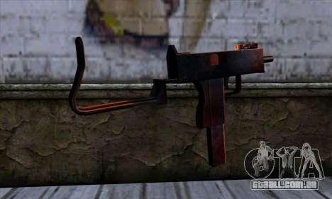 Micro-Uzi v2 Rusty-sangrento para GTA San Andreas segunda tela
