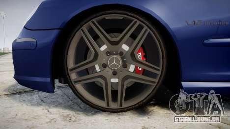 Mercedes-Benz W220 S65 AMG para GTA 4 vista de volta
