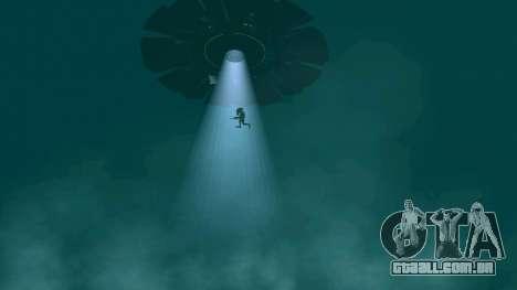 UFO sobre San Andreas para GTA San Andreas décima primeira imagem de tela