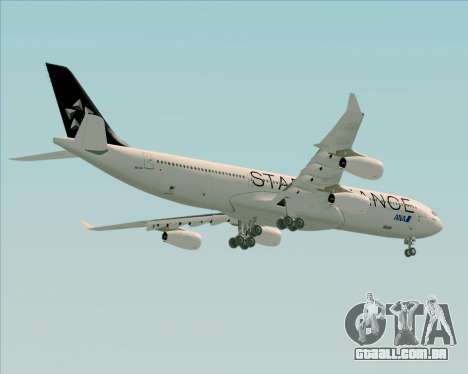 Airbus A340-300 All Nippon Airways (ANA) para GTA San Andreas vista direita