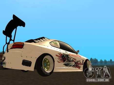 Nissan Silvia S15 VCDT para GTA San Andreas vista direita