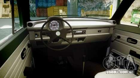 Volkswagen Beetle para GTA 4 vista de volta