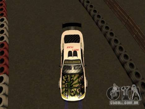 Nissan Silvia S15 VCDT para GTA San Andreas vista traseira