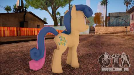 BonBon from My Little Pony para GTA San Andreas segunda tela
