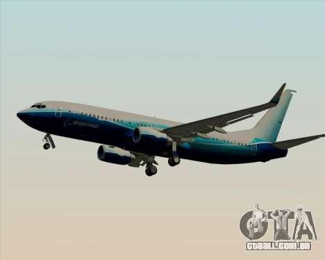 Boeing 737-800 House Colors para as rodas de GTA San Andreas