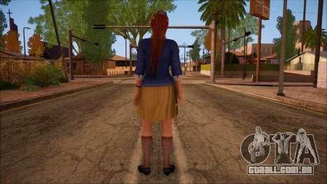 Modern Woman Skin 16 para GTA San Andreas segunda tela