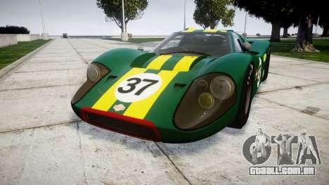 Ford GT40 Mark IV 1967 PJ 37 para GTA 4