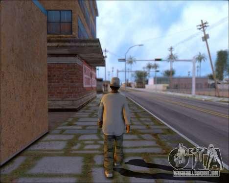 ClickClacks ENB V1 para GTA San Andreas por diante tela