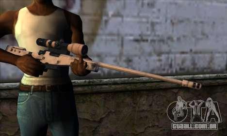 L11A3 Sniper Rifle para GTA San Andreas terceira tela