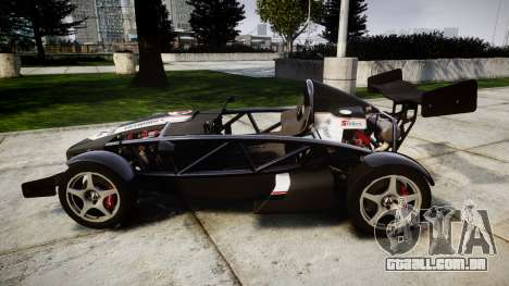 Ariel Atom V8 2010 [RIV] v1.1 Tashimo para GTA 4 esquerda vista