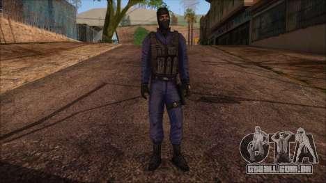 GIGN from Counter Strike Condition Zero para GTA San Andreas