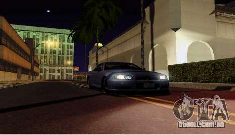 ENB para computadores fracos para GTA San Andreas terceira tela