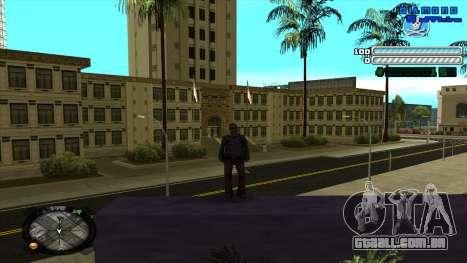 C-HUD Respect para GTA San Andreas segunda tela