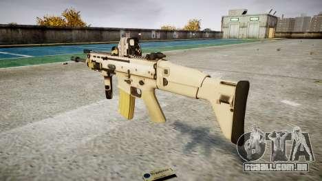 Máquina FN SCAR-L Mc 16 de destino icon1 para GTA 4 segundo screenshot