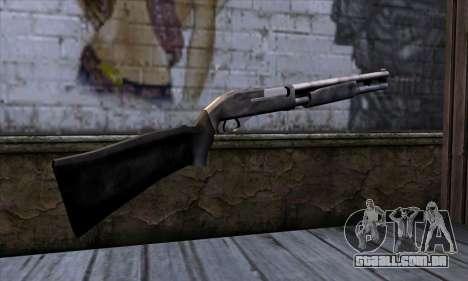 Chromegun v2 Habitual para GTA San Andreas segunda tela