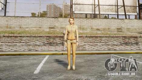 Menina do FBI para GTA 4 terceira tela