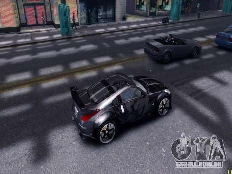 Nissan 350Z Tokyo Drift para GTA 4 vista interior