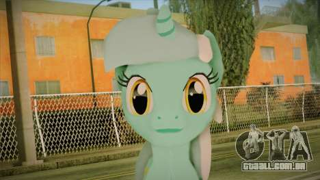 Lyra from My Little Pony para GTA San Andreas terceira tela