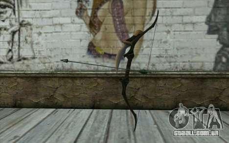 Green Arrow Bow v3 para GTA San Andreas