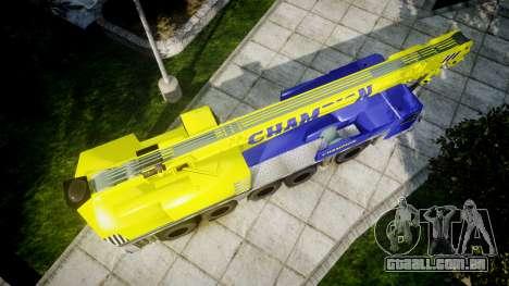 O guindaste Campeão v2.0 para GTA 4 vista direita