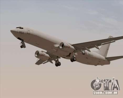Boeing P-8 Poseidon US Navy para GTA San Andreas vista superior