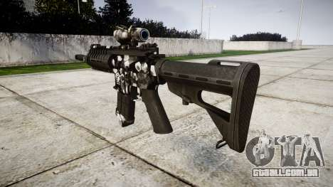 Máquina P416 ACOG PJ3 alvo para GTA 4 segundo screenshot