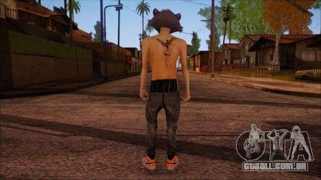 GTA 5 Skin para GTA San Andreas segunda tela