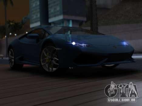 Lime ENB v1.2 SA:MP Edition para GTA San Andreas por diante tela