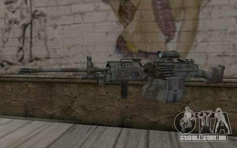 Minigun MK48 para GTA San Andreas