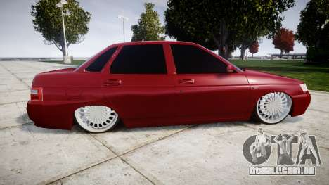 ВАЗ-2110 Bogdan rims2 para GTA 4 esquerda vista