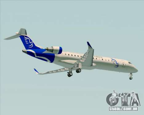 Embraer CRJ-700 China Express Airlines (CEA) para GTA San Andreas vista traseira